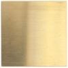 Metal Blank 24ga Brass Square 27mm No Hole